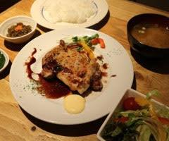 チキン・ソテー定食