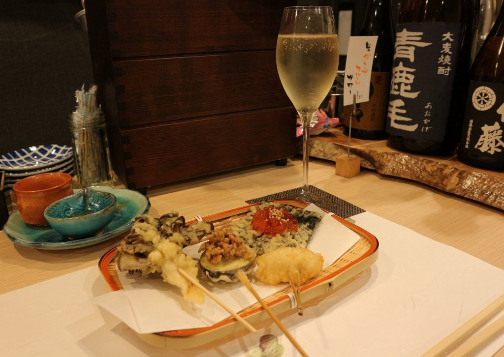 串天ぷら 壱の膳